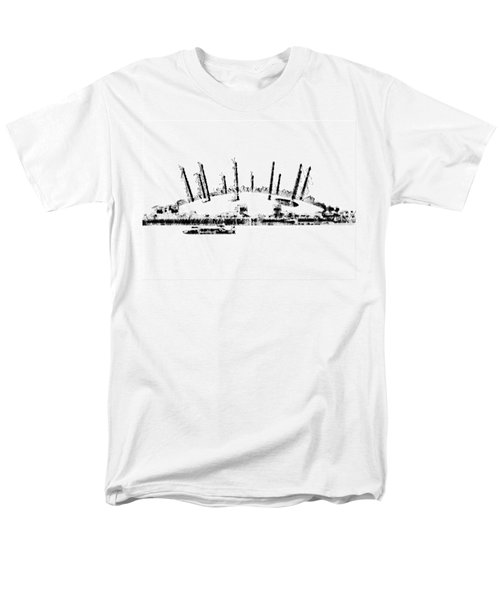 London O2 Arena Men's T-Shirt  (Regular Fit) by ISAW Gallery