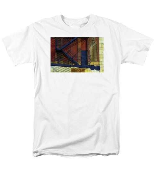 Lonely Days Parking Garage V2 Men's T-Shirt  (Regular Fit) by Raymond Kunst