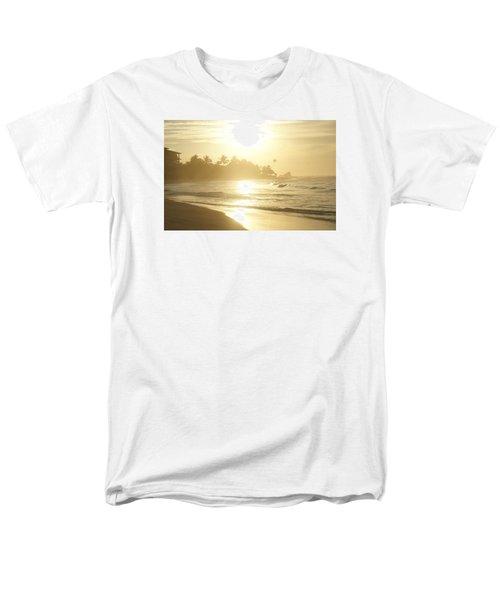 Men's T-Shirt  (Regular Fit) featuring the photograph Long Beach Kogalla by Christian Zesewitz