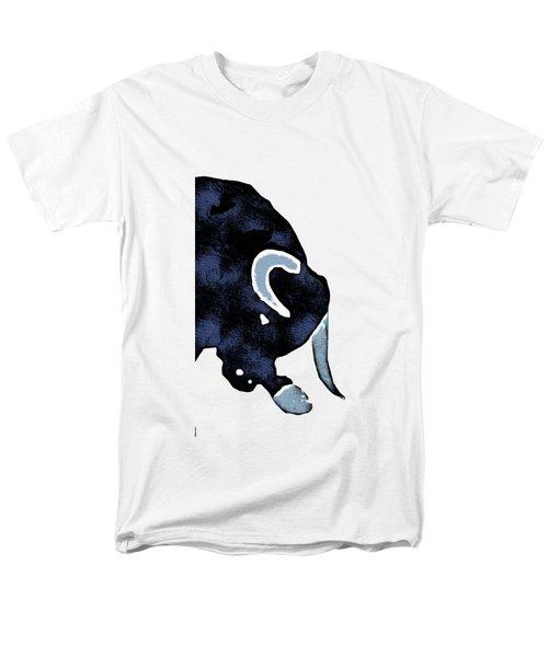 Long Horn Bull Phone Case Men's T-Shirt  (Regular Fit) by Edward Fielding