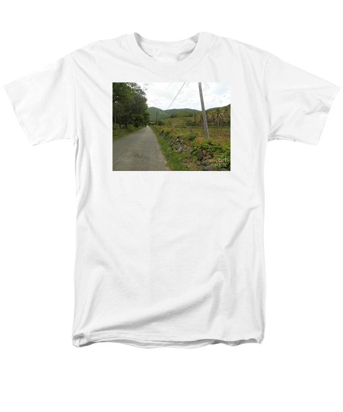 Long Road Into Colombier Men's T-Shirt  (Regular Fit) by Margaret Brooks