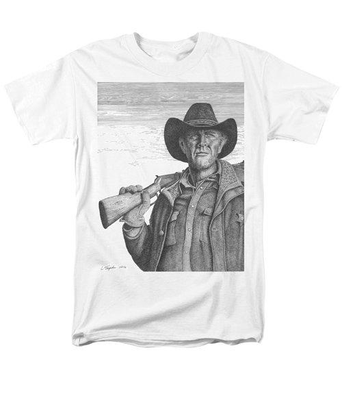 Longmire Men's T-Shirt  (Regular Fit) by Lawrence Tripoli
