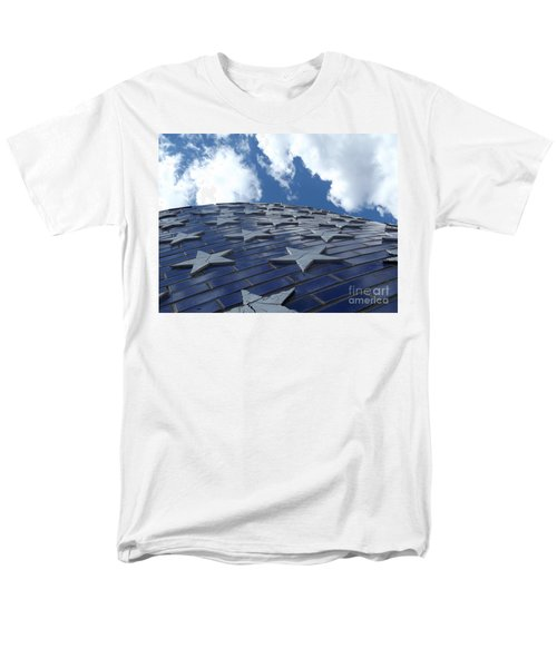 Lookig Up At The Stars And Blue Sky Men's T-Shirt  (Regular Fit) by Erick Schmidt