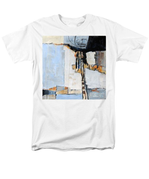 Men's T-Shirt  (Regular Fit) featuring the painting Looking For A Way Out by Ron Stephens