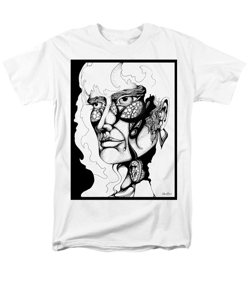Men's T-Shirt  (Regular Fit) featuring the drawing Lord Of The Flies Study by Curtiss Shaffer
