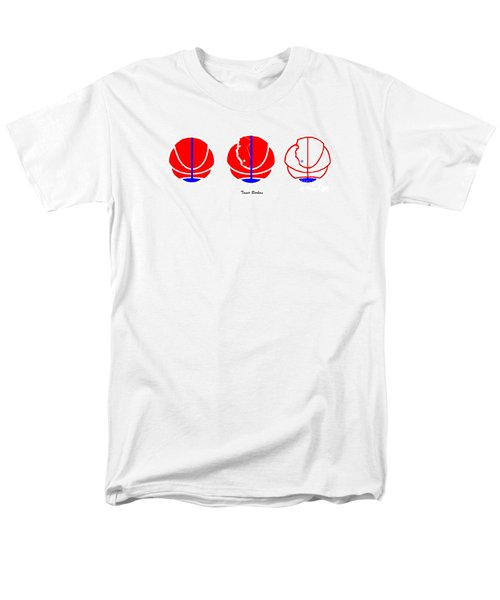 Men's T-Shirt  (Regular Fit) featuring the digital art Los Angeles Clippers Logo Redesign Contest by Tamir Barkan