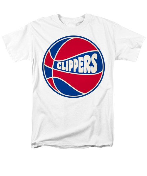 Men's T-Shirt  (Regular Fit) featuring the photograph Los Angeles Clippers Retro Shirt by Joe Hamilton