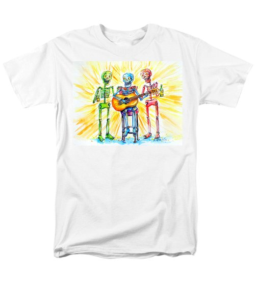 Los Tres Cantantes Men's T-Shirt  (Regular Fit) by Heather Calderon