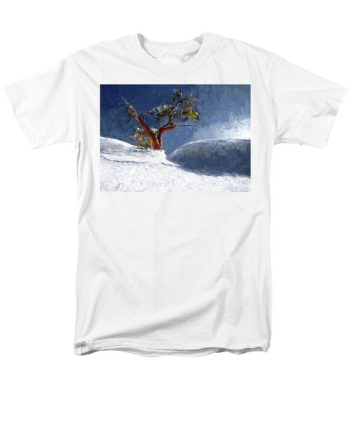 Lost In The Snow Men's T-Shirt  (Regular Fit) by Alex Galkin
