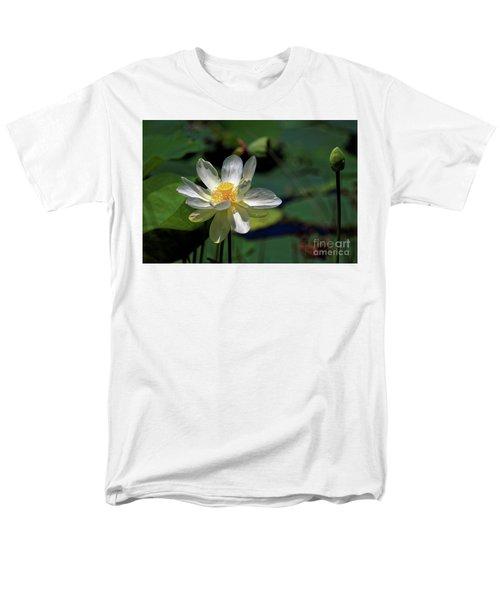 Lotus Blossom Men's T-Shirt  (Regular Fit) by Paul Mashburn