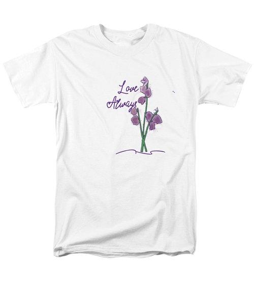 Love Always Men's T-Shirt  (Regular Fit) by Judy Hall-Folde