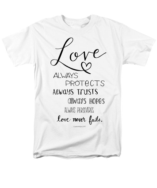 Love Always Men's T-Shirt  (Regular Fit)