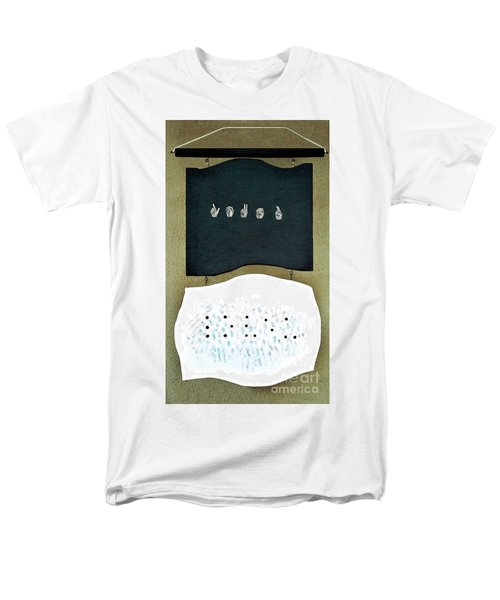 Men's T-Shirt  (Regular Fit) featuring the painting Love U by Fei A