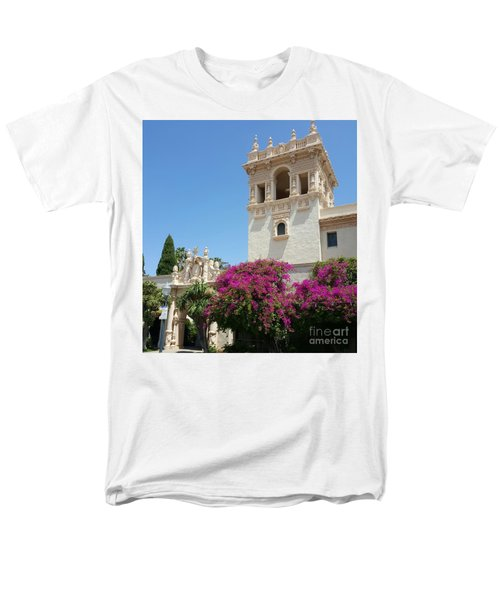 Lovely Blooming Day In Balboa Park San Diego Men's T-Shirt  (Regular Fit)