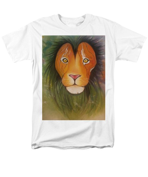 Lovelylion Men's T-Shirt  (Regular Fit) by Anne Sue