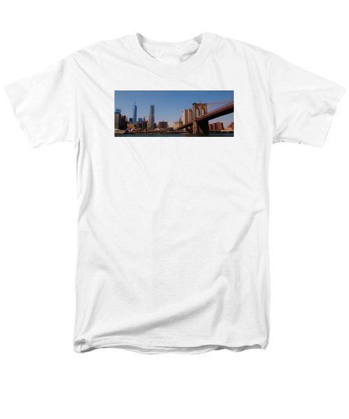 Lower Manhattan Nyc Men's T-Shirt  (Regular Fit)