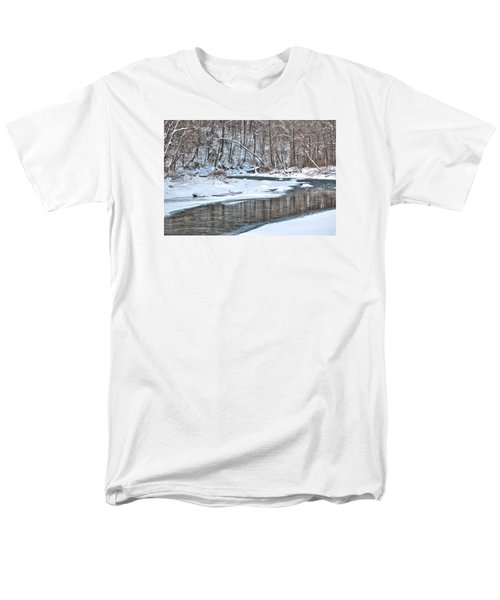 Loyalhanna Creek - Wat0100 Men's T-Shirt  (Regular Fit) by G L Sarti