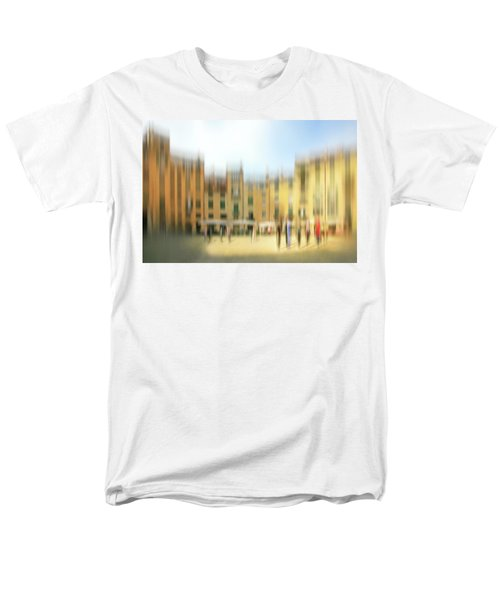 Lucca Ampitheatre Impression 1 Men's T-Shirt  (Regular Fit) by Marty Garland