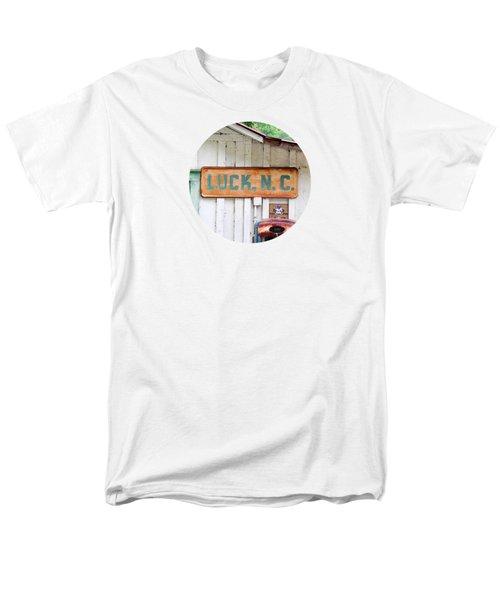 Luck Nc T Shirt Men's T-Shirt  (Regular Fit) by Valerie Reeves