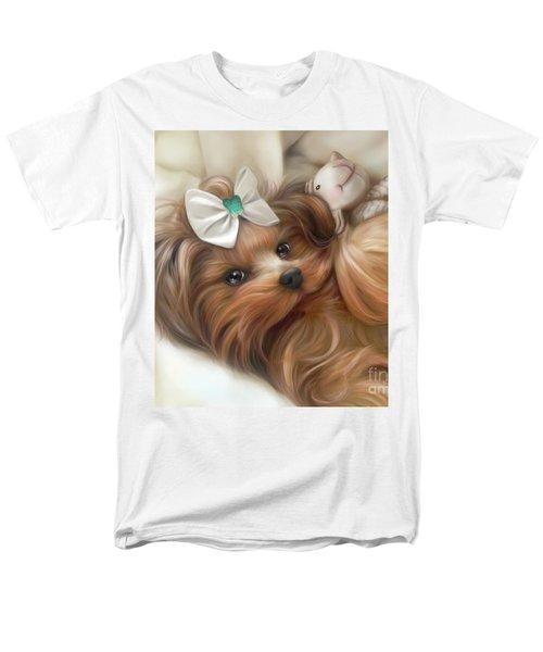 Lulu And Mr.lamb Men's T-Shirt  (Regular Fit) by Catia Cho