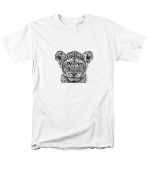 Lyla The Lion Cub Men's T-Shirt  (Regular Fit) by Abbey Noelle