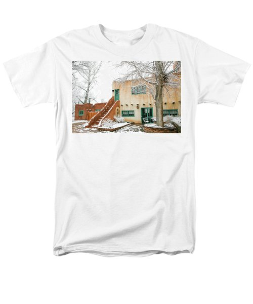 Men's T-Shirt  (Regular Fit) featuring the photograph Mabel Dodge House 2 by Marilyn Hunt