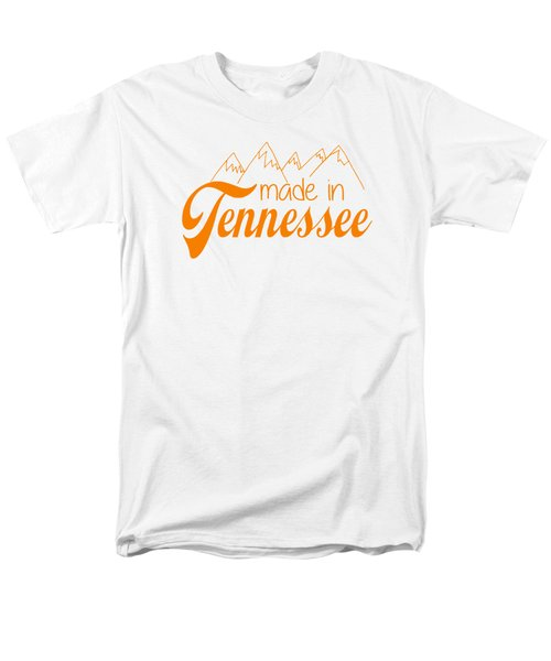 Made In Tennessee Orange Men's T-Shirt  (Regular Fit)