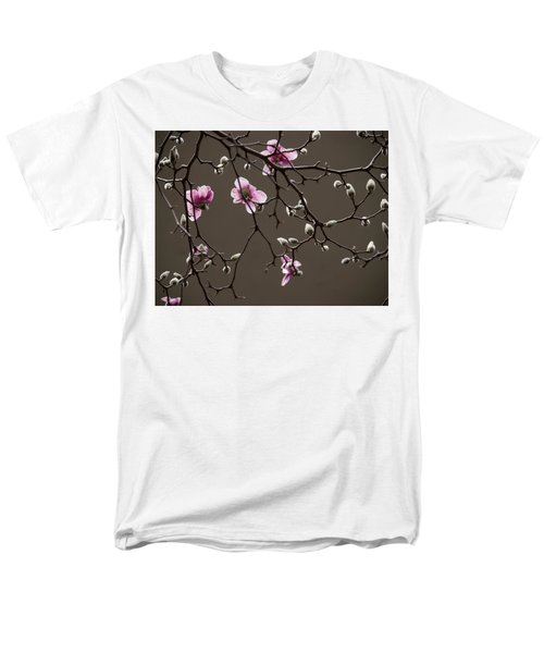 Magnolias In Bloom Men's T-Shirt  (Regular Fit) by Rob Amend