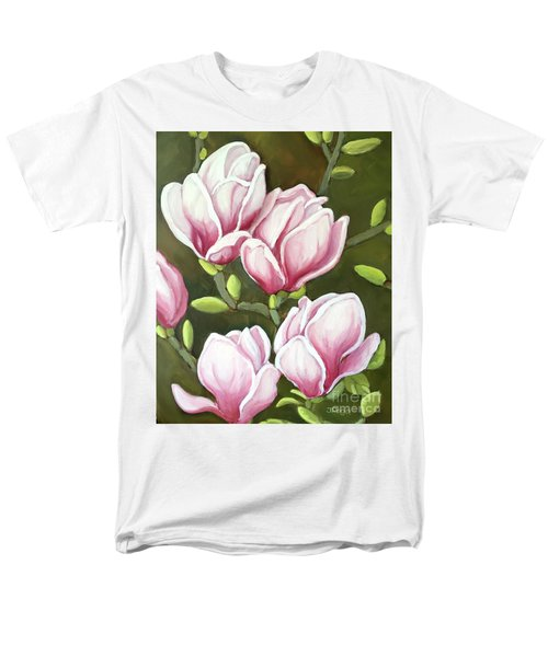 Magnolias Men's T-Shirt  (Regular Fit) by Inese Poga