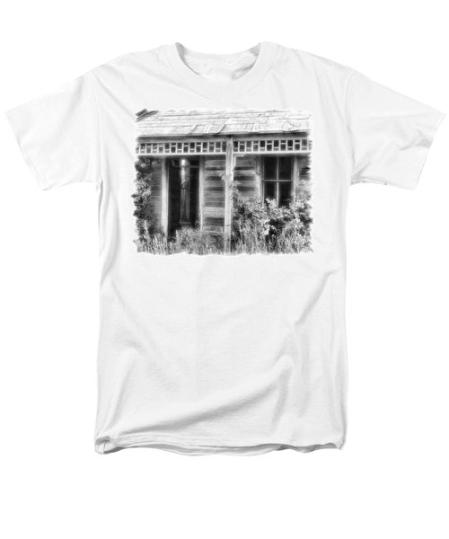 Men's T-Shirt  (Regular Fit) featuring the photograph Maiden History 2 by Susan Kinney