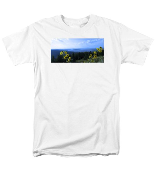 Men's T-Shirt  (Regular Fit) featuring the photograph Maine Mountain Vistas by Mike Breau
