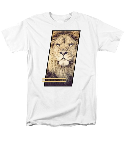 Male Lion Men's T-Shirt  (Regular Fit)