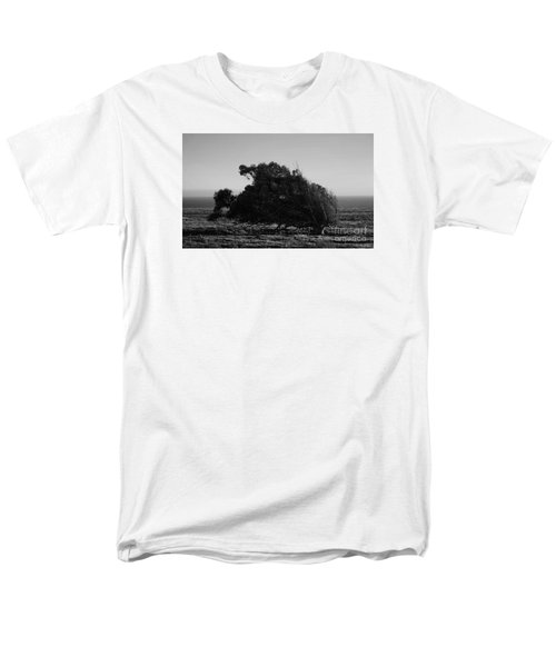 Men's T-Shirt  (Regular Fit) featuring the photograph Malformed Treeline by Clayton Bruster
