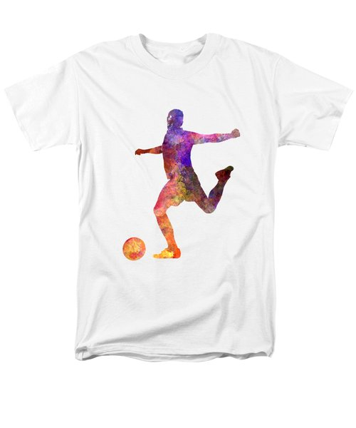 Man Soccer Football Player 03 Men's T-Shirt  (Regular Fit)