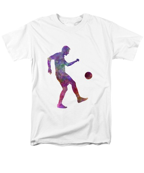 Man Soccer Football Player 04 Men's T-Shirt  (Regular Fit) by Pablo Romero