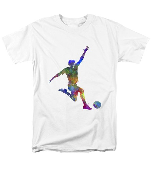 Man Soccer Football Player 05 Men's T-Shirt  (Regular Fit) by Pablo Romero