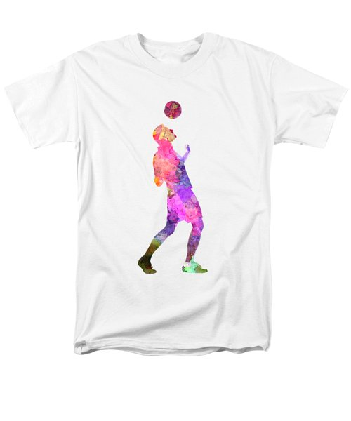 Man Soccer Football Player 06 Men's T-Shirt  (Regular Fit) by Pablo Romero