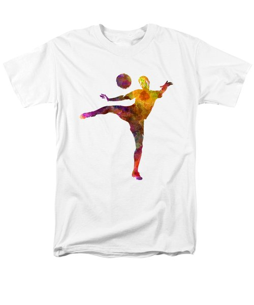 Man Soccer Football Player 07 Men's T-Shirt  (Regular Fit) by Pablo Romero