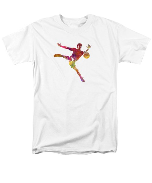 Man Soccer Football Player 08 Men's T-Shirt  (Regular Fit) by Pablo Romero