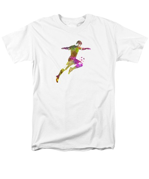 Man Soccer Football Player 12 Men's T-Shirt  (Regular Fit) by Pablo Romero