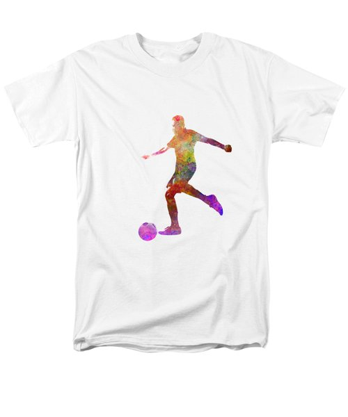 Man Soccer Football Player 16 Men's T-Shirt  (Regular Fit) by Pablo Romero
