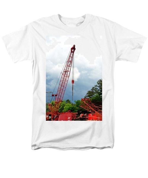Manitowoc Crane 2015 Men's T-Shirt  (Regular Fit) by Maria Urso