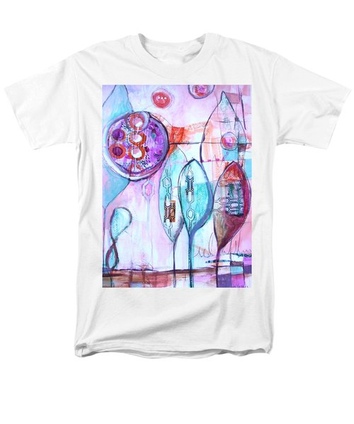 Many Moons Men's T-Shirt  (Regular Fit) by Karin Husty
