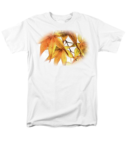 Maple Leaves Men's T-Shirt  (Regular Fit) by Barry Jones
