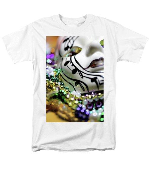 Mardi Gras I Men's T-Shirt  (Regular Fit) by Trish Mistric