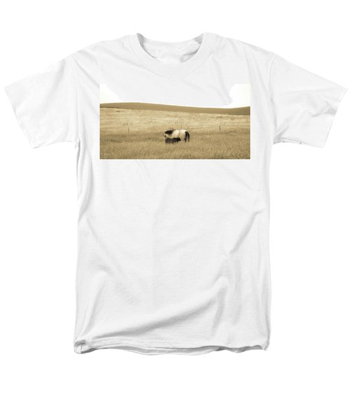 Mare And Foal  Men's T-Shirt  (Regular Fit) by Dawn Romine