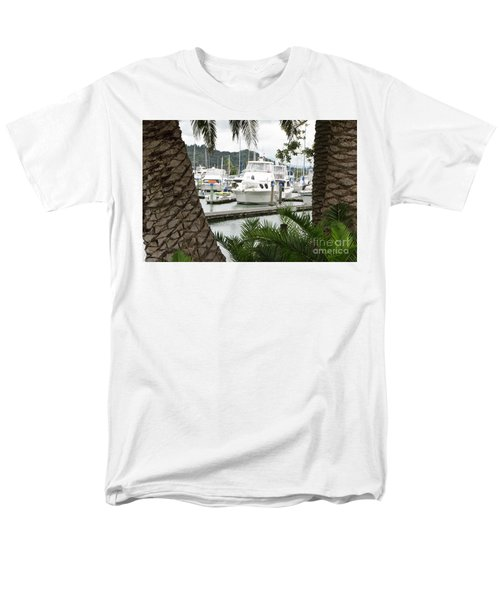 Men's T-Shirt  (Regular Fit) featuring the photograph Marina View by Yurix Sardinelly