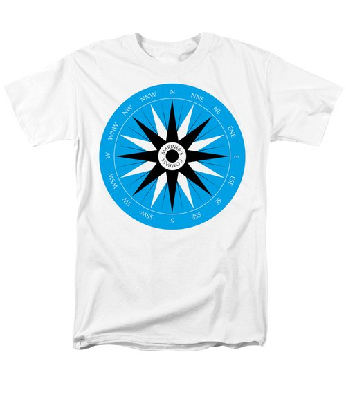 Mariner's Compass Men's T-Shirt  (Regular Fit) by Frank Tschakert