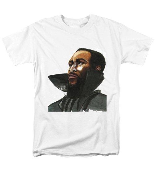 Marvin Gaye Men's T-Shirt  (Regular Fit) by Emmanuel Baliyanga