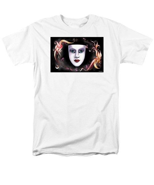 Mask And Vines Men's T-Shirt  (Regular Fit)